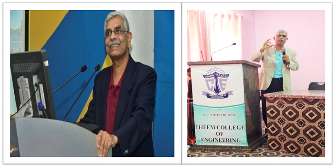 TPSDI Chief - Mr. C.N. Nagakumar addressing Engineering Students